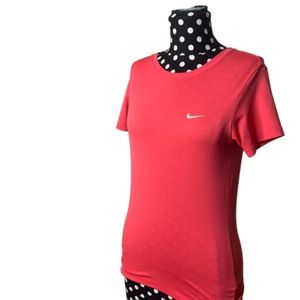 Pink Nike Dri-Fit Athletic Short Sleeve Size XS